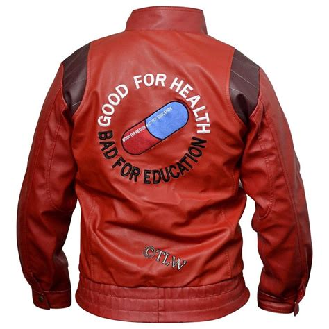 Jaket Sweater Hoodie White Not Supreme Chion kaneda leather jacket with capsule text