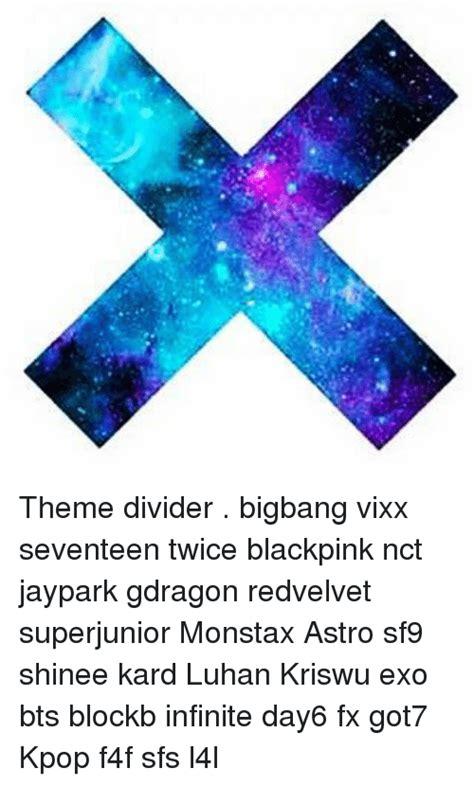 theme seventeen kpop theme divider bigbang vixx seventeen twice blackpink nct