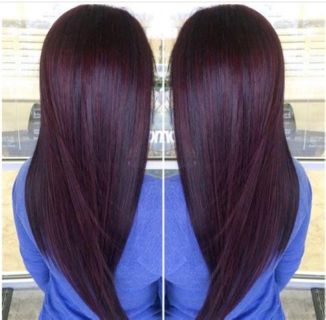 Brown Plum Hair Color | plum brown paul mitchell trends plum pinterest