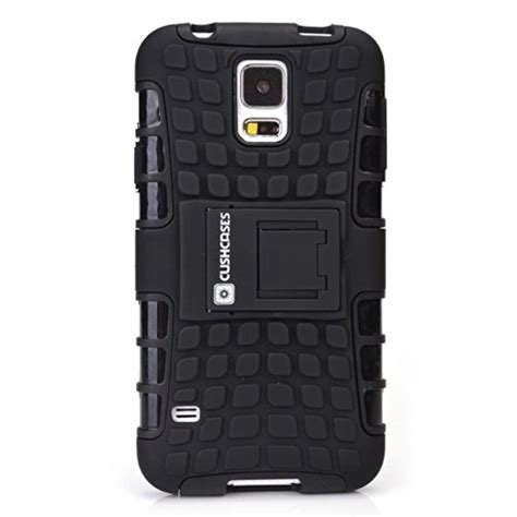 best rugged phone cases cush cases heavy duty rugged cover for samsung galaxy s5 sv s v smart phone black
