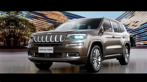 Jeep Commander Specs by Jeep Commander Grand Commander Specs Allegedly Leak