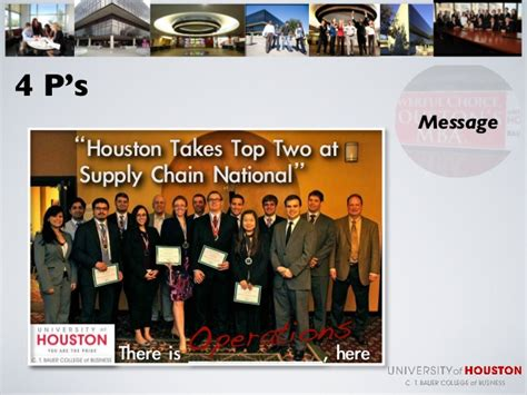 Marketing In Houston Mba by Outside Consultant Uh Mba Marketing Presentation