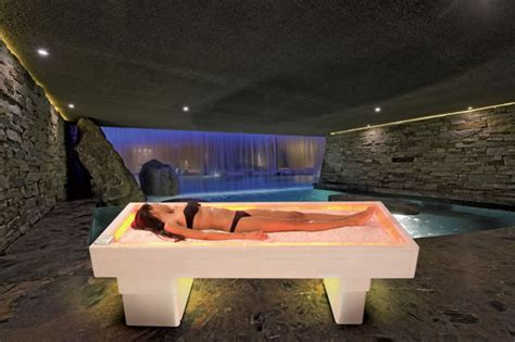 salt bed the tranquility pod waterbed gently pulsates with music to