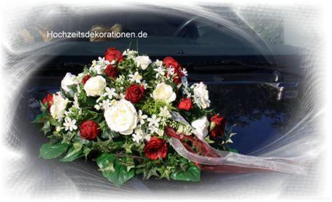 Hochzeitsdekoration Auto by Autoschmuck Autodeko Bluetenmeer Hochzeitsdekorationen