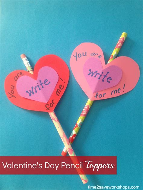 Handmade Ideas For Valentines Day - ideas diy s day pencil