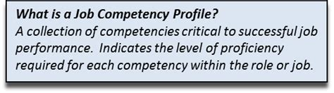 the competency based management competency based career planning development key