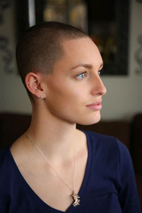 ladies bald haircut video 411 best images about buzz cut on pinterest