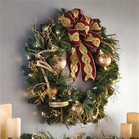 indoor wreaths home decorating indoor christmas decorations