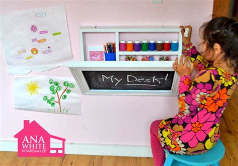 Diy Childrens Desk 8 Small Desks And Center Ideas For And Small Homes