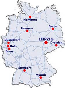 Leipzig Germany Map lake constance germany map