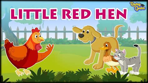 the little red hen bedtime story for kids roving genius youtube
