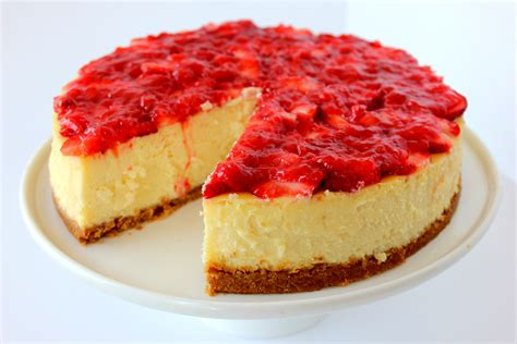 Cheese Cake By Aa New York Style Cheesecake Recipe Dishmaps