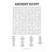 Ancient Egypt Word Search