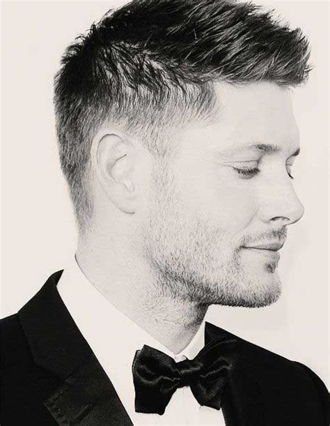 Jensen Ackles Haircut | 15 mens short haircut styles mens hairstyles 2018