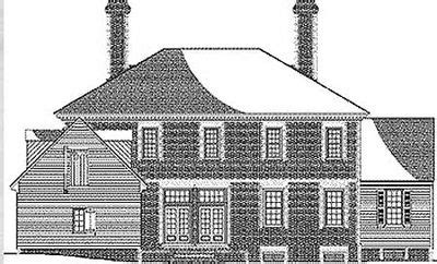 Classic Georgian House Plans by Classic Georgian Home Plan 32516wp Architectural