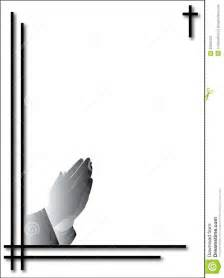 condolence card with praying hands royalty free stock