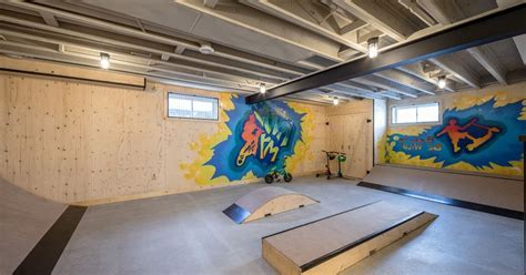 How to Paint Basement Ceiling with Industrial Kids Also