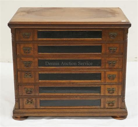 6 drawer spool cabinet antique spool cabinet with 6 drawers and a litho decorated b