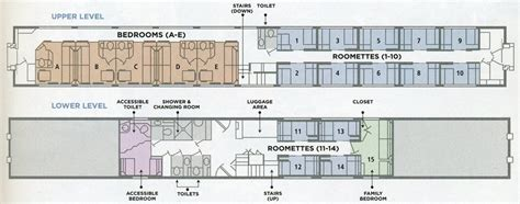 Sleeper Layout by Planes Trains And Automobiles Amtrak The Inside Cabin