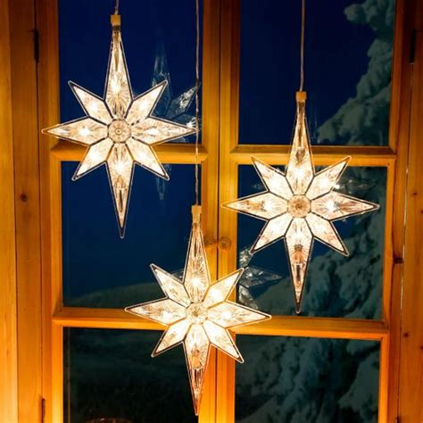 Weihnachtsdeko Fenster Mit Batterie by Led Fensterdeko Winterstern 3er Set G 228 Rtner P 246 Tschke