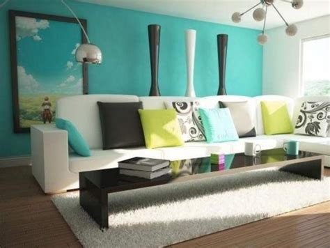 turquoise paint color for simple modern home interior 4 home decor