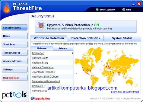 Antivirus Untuk Windows Server 2003 memaksimalkan antivirus menggunakan pc tools threatfire antivirus artikel komputer