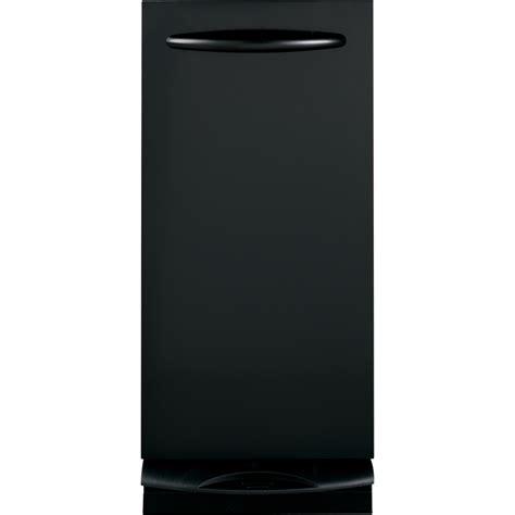 home trash compactor shop ge profile series profile 14 875 in black