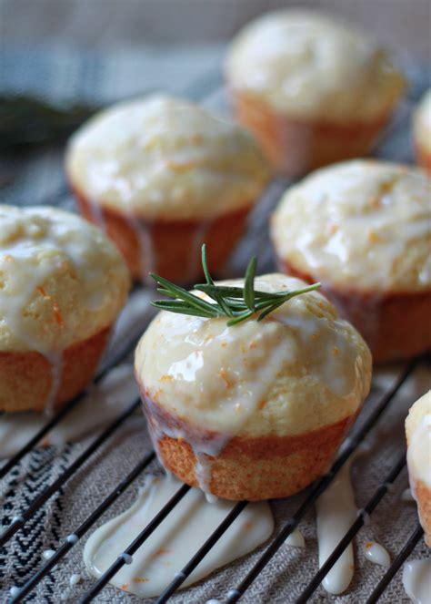 tuscan orange tuscan orange ricotta muffins with rosemary orange glaze