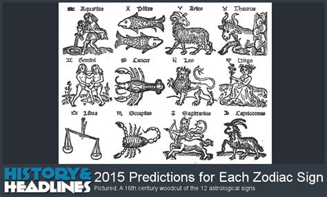 new year horoscope predictions 2015 image gallery new 2015 zodiac signs