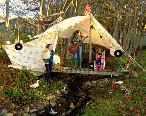 things to build in backyard outdoor tents for kids design dazzle