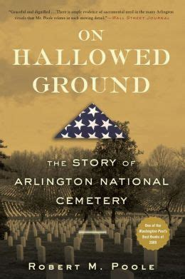 cemetery books on hallowed ground the story of arlington national