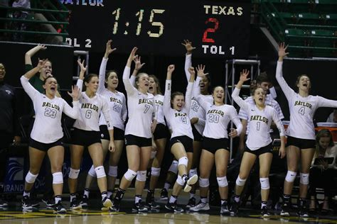 Team Set Volley Mizuno New November 2017 no place like home baylor nabs ncaa s 12th overall seed to open up at ferrell