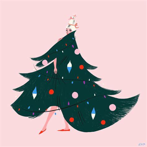 pin  candace hansen  merry  bright christmas illustration holiday illustrations