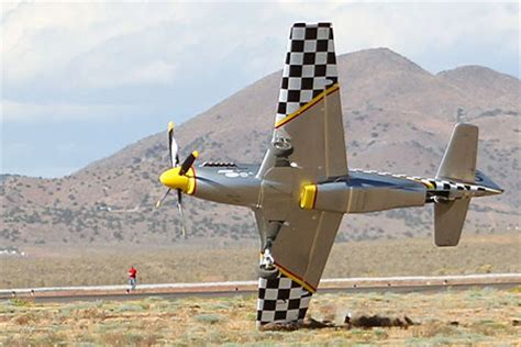 Section 3 Reno Air Races by Pilot Has Miraculous Escape From Plane Smash At Reno Air