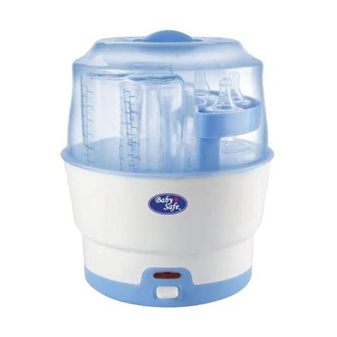 Jual Perlengkapan Bayi Baby Safe 6 Bottles Express Sterilizer jual baby safe lb317 express steam alat steril botol