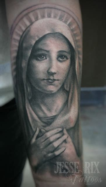 mary tattoos