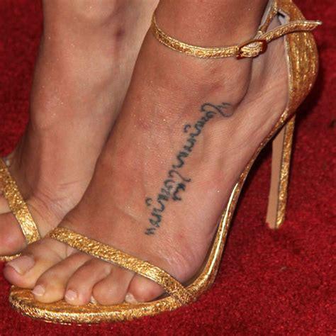 channing tatum tattoo dewan tatum bahasa foot style