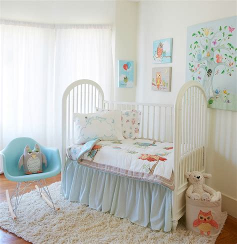 owl nursery bedding link up your nursery and kids room blog posts the born