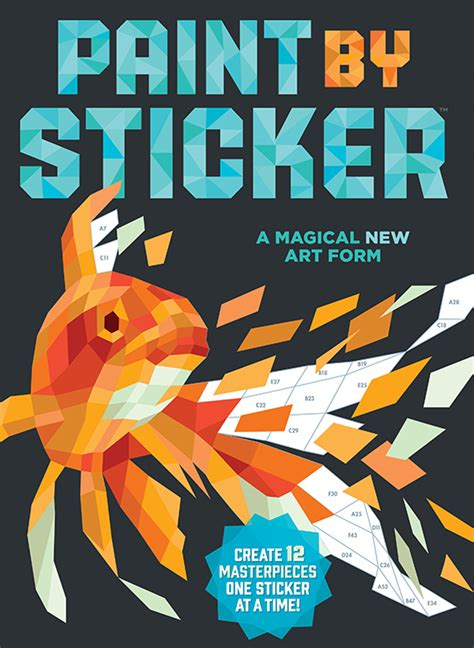 Sticker By Number Books paint by stickers books activity books for
