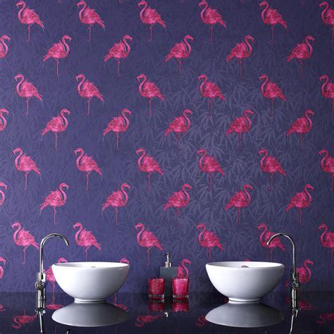 flamingo wallpaper kitchen mid century modern wallpaper the treasure hunter well