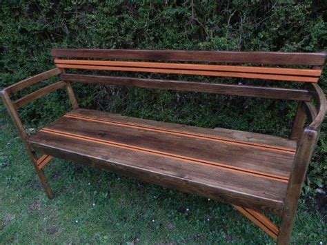 pallet benches pinterest pallet boards garden benches and old chairs on pinterest
