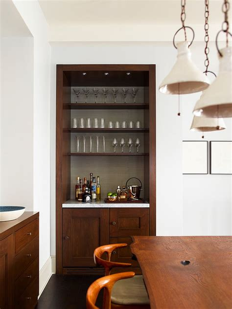 A Small Home Bar 20 Small Home Bar Ideas And Space Savvy Designs