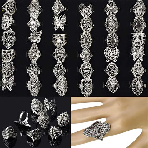 silver for jewelry wholesale 30pcs wholesale bulk jewelry lots mixed style tibet silver