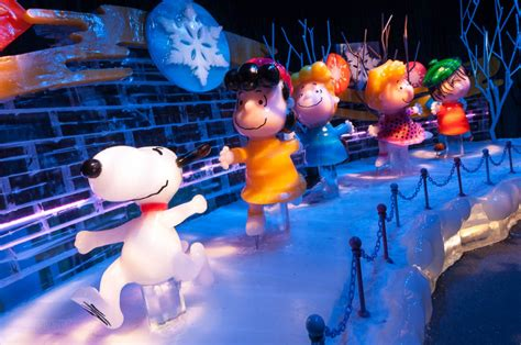 ice  gaylord palms featuring  charlie brown christmas  disney cruise  blog