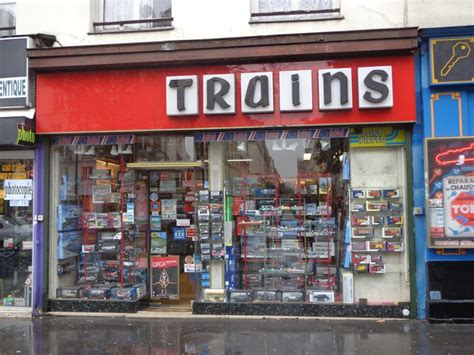 hobby store for trains in paris fun in france