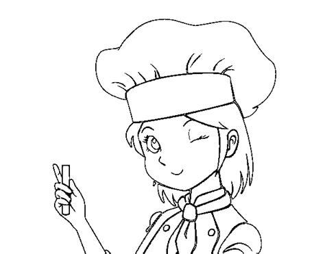girl chef coloring page girl chef coloring page coloringcrew com