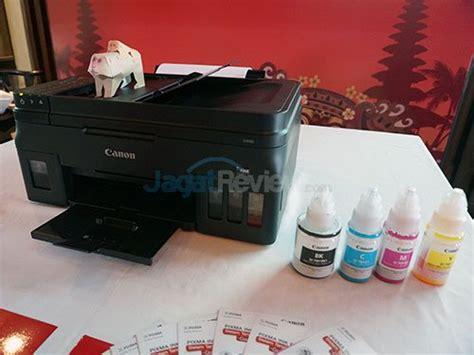 Tinta Isi Ulang Printer canon rilis printer tinta isi ulang baru ke tanah air