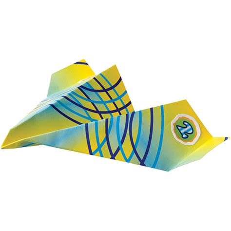 Paper Planes To Fold And Fly - fold n fly paper airplanes toys et cetera