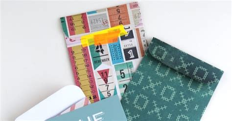 How To Make An Envelope With 12x12 Paper - diy scrapbook paper pocket envelope gathering