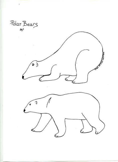 polar template polar template bears template